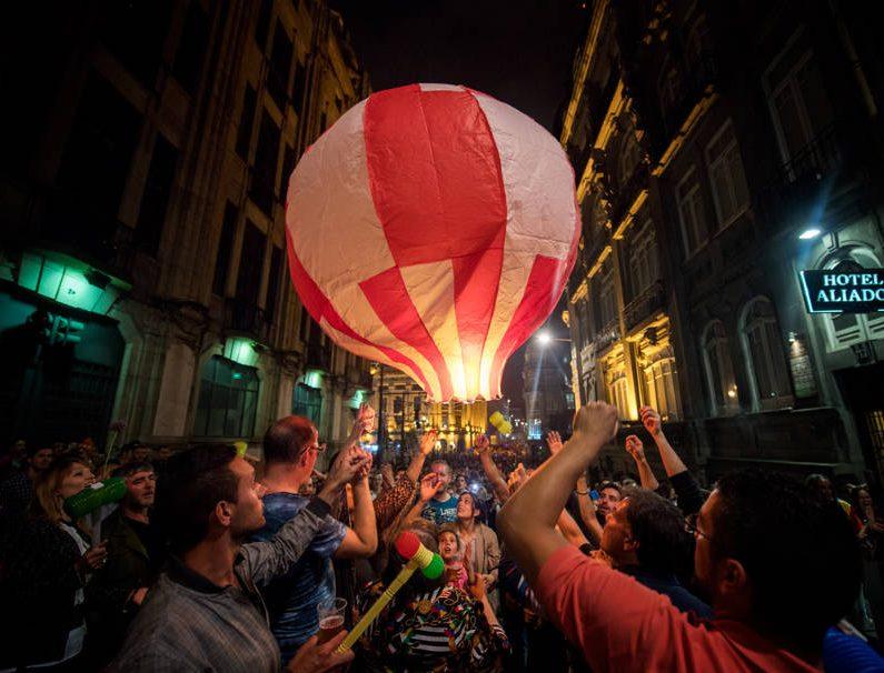 balões de São João