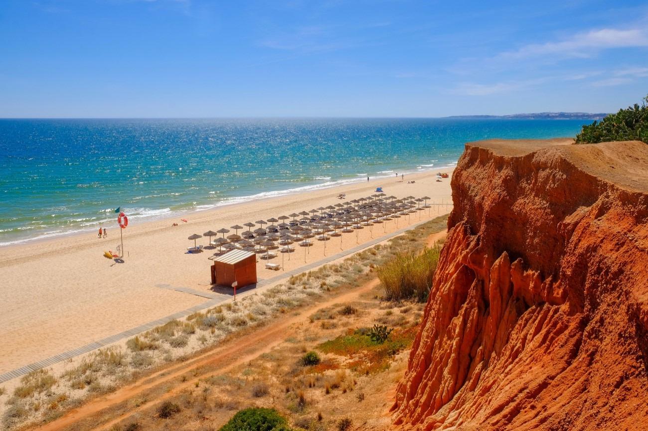 Marisa Zenha - praia da falésia Algarve