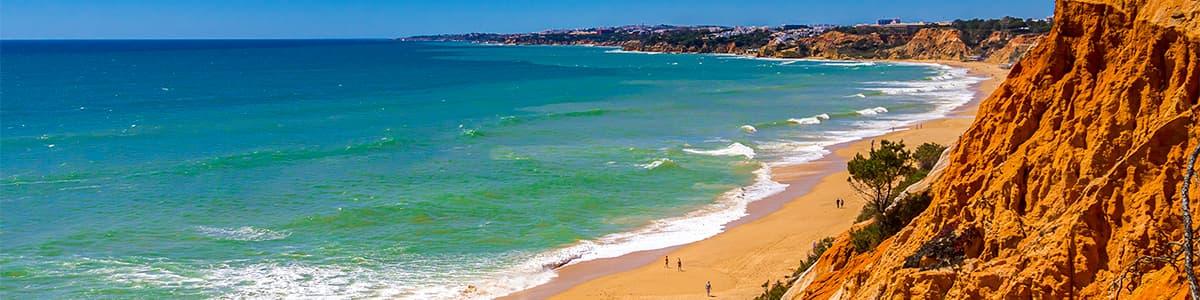 praia de albufeira Algarve