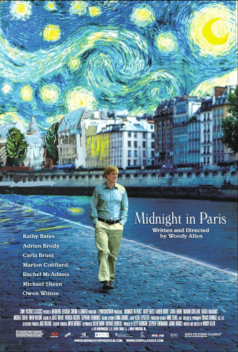 Midnight in Paris, Woody Allen